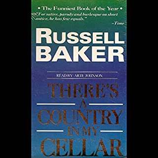 There's a Country in My Cellar audiobook cover art