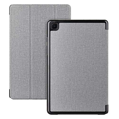 Cresee Galaxy Tab A7 2020 Hülle 10.4 Zoll, Flip Hülle Book Cover mit Magnetverschluss Ständer Tasche Folio Schutzhülle für Samsung Galaxy Tab A7 (SM-T500/SM-T505) Grau