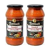 Botticelli Tomato and Parmigiano Reggiano Pasta Sauce - (2 Pack) Premium Italian Spaghetti Sauce - Tomato Sauce - 24oz