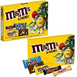 M&M's & Friends - Caja de selección de Navidad (tamaño mediano, 9 x 139 g)