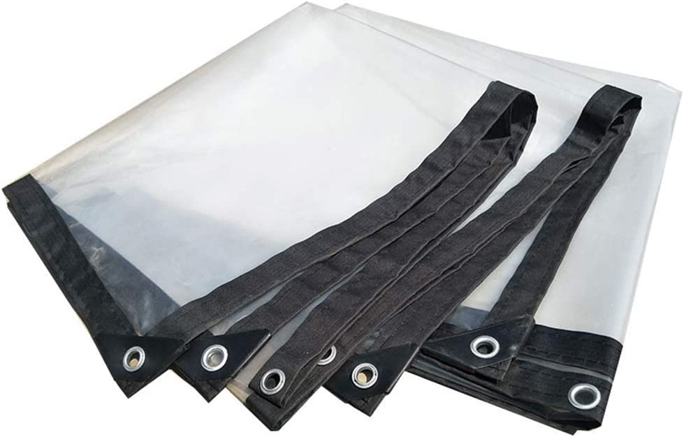 CHUNSHENN Tarps Tent Award Heavy Duty P Thicken Waterproof Bargain sale Transparent