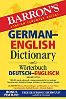 German-English Dictionary (Barron's Bilingual Dictionaries)