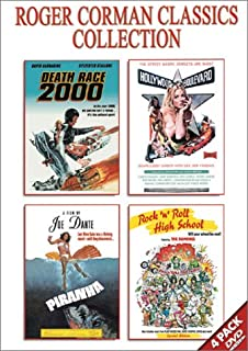 Roger Corman Classics Gift Set: (Death Race 2000 / Hollywood Boulevard / Piranha / Rock 'n' Roll High School)