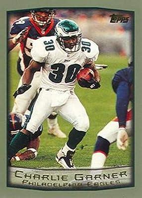 1999 Topps Football #5 Charlie Garner Philadelphia Eagles Official NFL Trading Card From The Topps Company