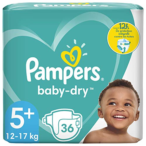 Pampers Baby-Dry Gr. 5+ 36 Windeln