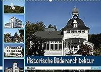 Historische Baederarchitektur Ruegen (Wandkalender 2022 DIN A2 quer): Der Kalender zeigt wunderschoene Aufnahmen der historischen Baederarchitektur Ruegens (Monatskalender, 14 Seiten )