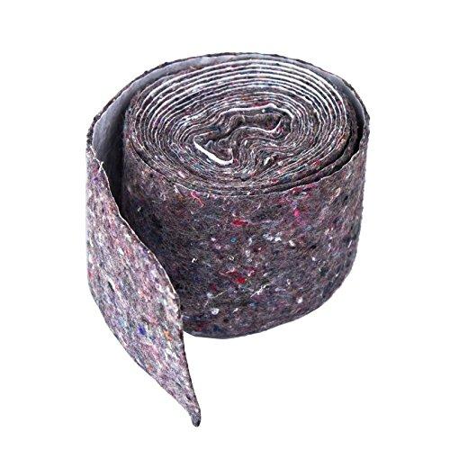Stabilo-Sanitaer Rolle Wickelvlies Vlies Isolierstreifen 70 x 2 mm mit Dampfsperre Vliesstreifen Filzband Isoliervlies Heizung
