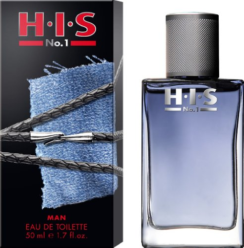 H.I.S  No.1 man Eau de Toilette, 50 ml