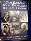 What Everyone Should Know About the 20th Century: 200 Events That Shaped the World