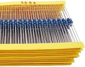 Yobett 166 Values 1/4w Resistors pack 1660pcs 0-22M DIP metal film full Range Resistors Assortment kits