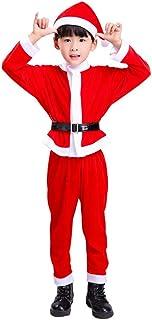 PULABO - Juego de 1 traje de Papá Noel con sombrero de Navidad, 100 cm, calidad superior y creativoNobu