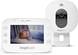 "Angelcare 4.3"" Video & Sound Monitor, White,"
