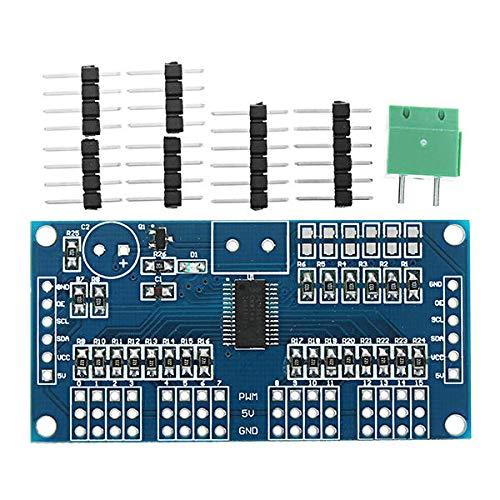 Kondensatoren 16 Straßen/Servo/Lenkgetriebe Antriebsscheibe Controller-Modul-Roboter IIC PCA9685 Geekcreit for A-r-d-u-i-n-o - Produkte, DASS die Arbeit mit den Offiziellen A-r-d-u-i-n-o-Boards 5p