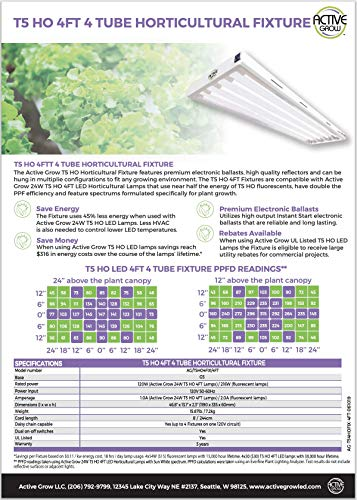 Active Grow T5 Grow Light