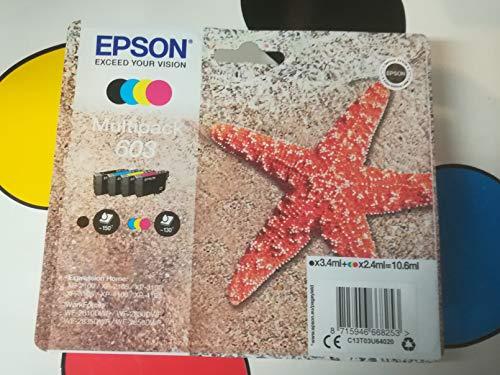 Epson - Inchiostro Multipack, Motivo: Stella Marina, 4 Colori, 603 Multi
