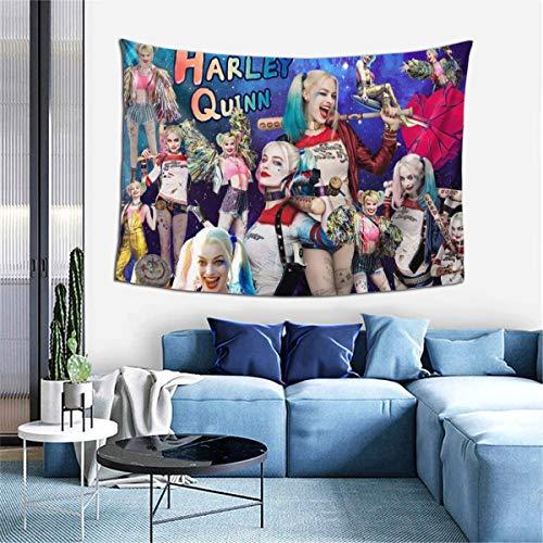 5198ZDo7FVL Harley Quinn Blankets