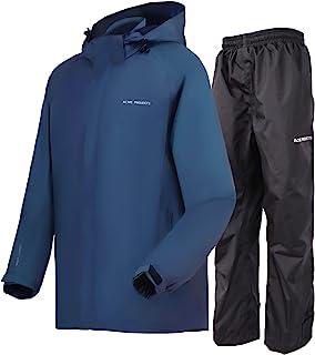 Acme Kids Projects Rain Suit (Jacket + Pants), 100% Waterproof, Breathable, 10000mm/3000gm, YKK Zipper