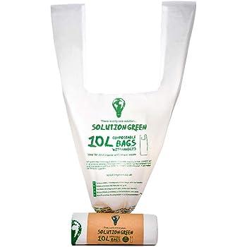 Solution Green Bolsas de Basura Con y Sin asas 6L 10L 30L - 100 ...