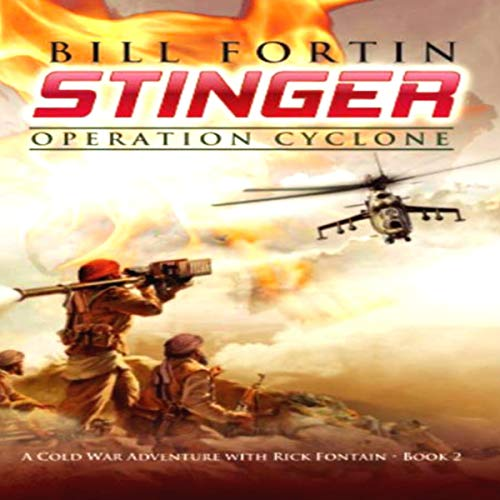 Stinger: Operation Cyclone audiobook cover art