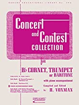 Concert and Contest Collection: Piano Accompaniment - Bb Cornet, Trumpet or Baritone (Rubank Educational Library)