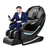 OOTORI Massage Chair Recliner, SL-Track Zero Gravity, Full Body Shiatsu Electric Massage Chair with Tapping Heating Stretching Swedish Massage Back and Foot Massagers (Black)