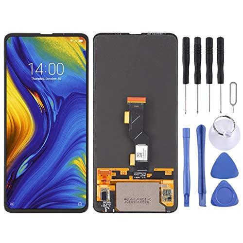 Repuesto Xiaomi OLED Pantalla LCD Material y digitalizador Asamblea Completa for Xiaomi Mi Mix 3 Repuesto Xiaomi (Color : Black)