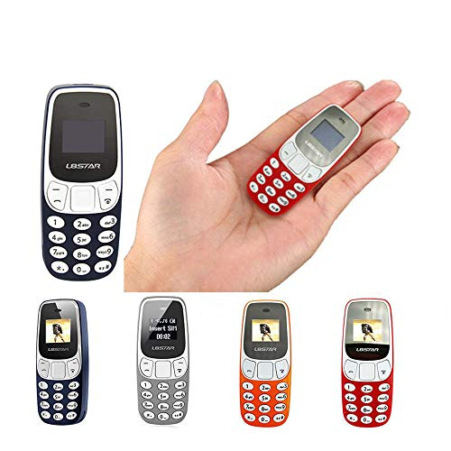 Mini teléfono móvil funcional portátil L8 Star BM10 Dual SIM GSM Bluetooth (naranja)