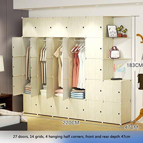 New Ultra Time Empty Wardrobe Clothes Portable Wardrobe Closet Modular Storage Organizer Space Savin...