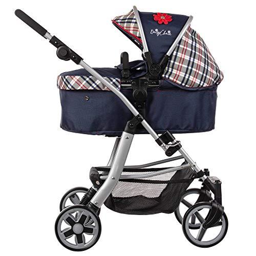 Daisy Chain Connect-5-in-1-Puppenwagen – Stoff in Classic Check. Empfohlen für Kinder zwischen 4 und 8 Jahren.