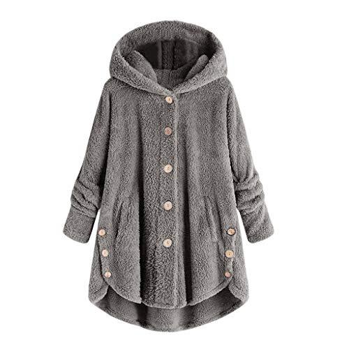 Wtouhe Jacke Damen wasserdicht Plus Size Sweatjacke mit Teddyfutter Warm Weihnachtsjacke rot softshelljacke fleecejacke weste übergangsjacke jacken