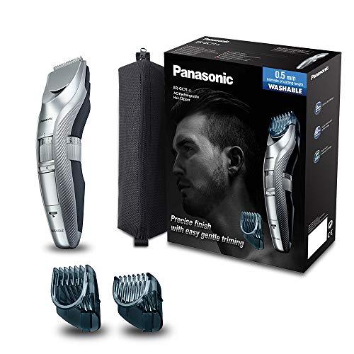 Panasonic Bart-/Haarschneider ER-GC71 mit 39 Längeneinstellungen, Bart-Trimmer für Herren, Styling & Pflege für Haare & Bart