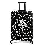 Maddy's Home 伸縮素材 スーツケース カバー 選べる 柄 バリエーション M/L/XLサイズ (L)