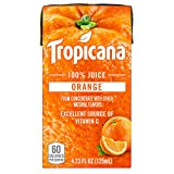 Tropicana 100% Juice Box, Orange Juice, 4.23oz (Pack of 44)