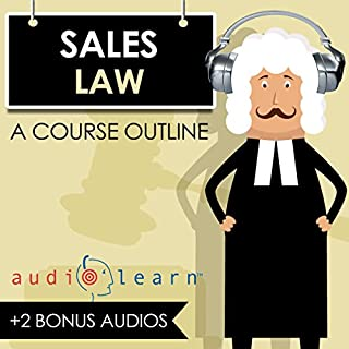 Sales Law AudioLearn audiobook cover art