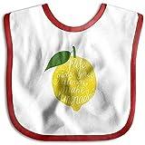 Le da limones Haga baberos de baba de pañuelo con pañuelo para limonada,...