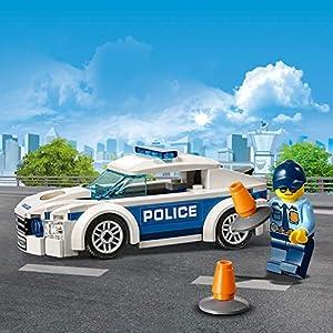 Amazon.co.jp - レゴ シティ ポリスパトロールカー 60239