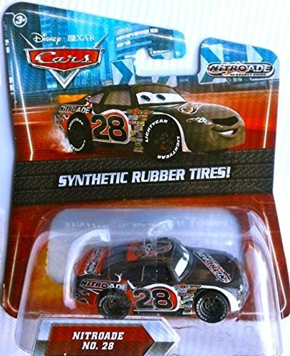 Disney / Pixar CARS Movie Exclusive 155 Die Cast Car with Synthetic Rubber Tires Nitroade