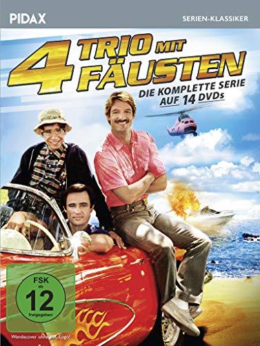 Trio mit 4 Fäusten - Komplettbox / Die komplette Kult-Serie (Pidax Serien-Klassiker) [14 DVDs]
