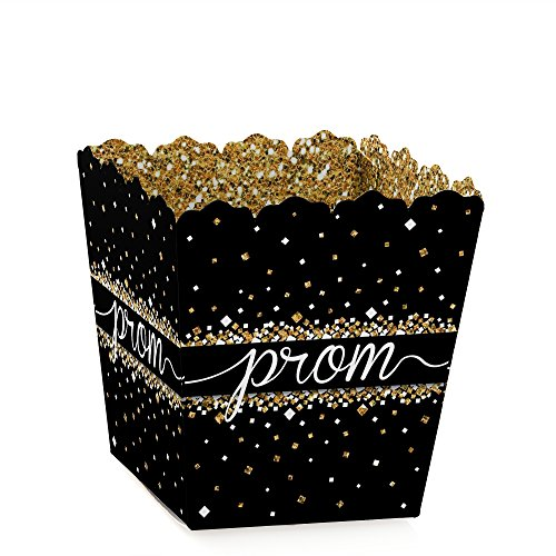 Prom - Party Mini Favor Boxes - Prom Night Treat Candy Boxes - Set of 12