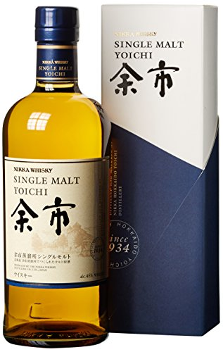 Nikka Yoichi Single Malt Whisky mit Geschenkverpackung (1 x 0,7l)