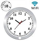 KAMRE 1080P WiFi Hidden Camera Wall Clock Nanny Camera Spy Camera Clock for Home Security with Motion Detection, No Night Vision