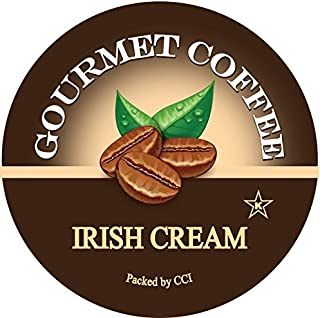 Irish Cream Gourmet Coffee, 24 Count, Single Serve Coffee Pods Compatible With All Keurig K-cup Brewers