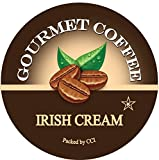 Irish Cream Gourmet Coffee, 24 Count, Single Serve Coffee Pods Compatible With All Keurig K-cup...