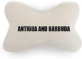 DIYthinker Antigua y Barbuda - Almohada para el Cuello del Coche