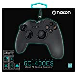 Nacon - PCGC-400ES Mando Gaming E-Sports Con Cable Con Modo Pro Gamer Que Emula Teclado Y Ratón (PC)