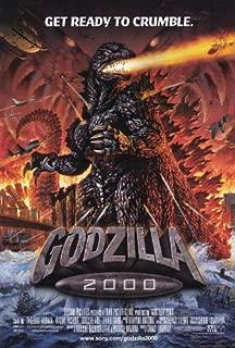 Godzilla 2000 Movie Poster (27 x 40 Inches - 69cm x 102cm) (2000) -(Takehiro Murata)(Shiro Sano)(Hiroshi Abe)(Naomi Nishida)(Mayu Suzuki) by MG Poster
