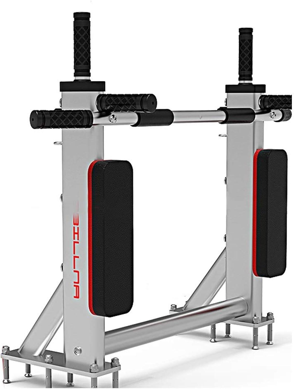 Pullup Bar Home Horizontal Bar Wall Parallel Bars Sandbag Shelf Home Fitness Equipment Bearing Weight 350kg (color   White, Size   95x70x25cm)