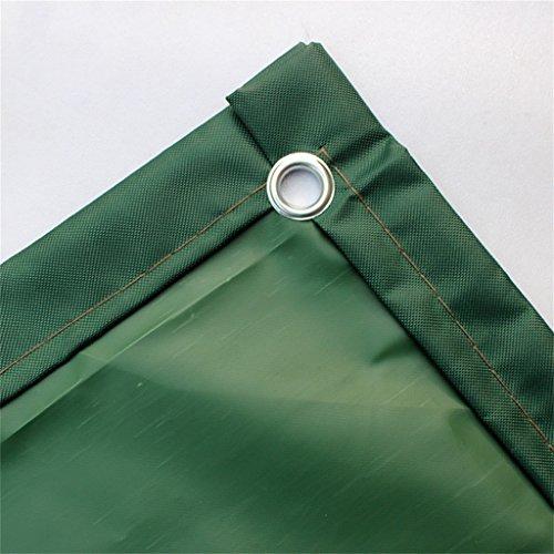 ZZYE Telo Poly teli pesanti Impermeabile Ottimo per tettulo Tenda a baldacchino Rifugio copertura resistente alle intemperie resistente alle intemperie Forte rinforzato, 450g / m², spessore 0,45mm tel