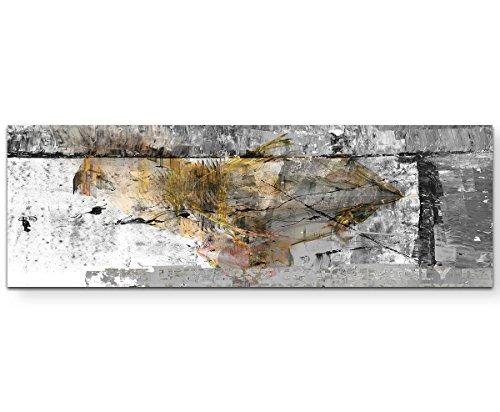Sinus Art Wir sind die Guten Wandbild auf Leinwand Enigma Serie 150x50cm