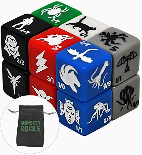 Monster Rocks 2.0 Token Dice for Magic The Gathering